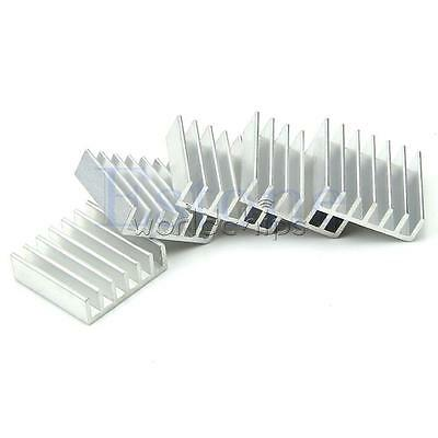 10PCS 20X20X6mm High Quality Aluminum Heat Sink for LED Power Memory Chip IC DIY