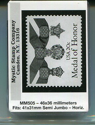 New Mystic Stamp Mounts-Size 40 X 36 Millimeters-Mm505-50 Pack!