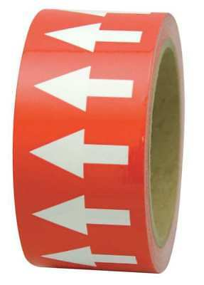 INCOM MANUFACTURING PMA454 Arrow Tape, White/Red, 4 In. W