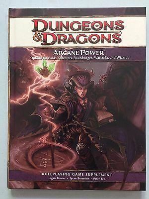 Arcane Power - 4th Edition - D&D Dungeons & Dragon