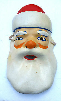 1983 USSR Russian Soviet DED MOROZ Santa Claus Christmas Large Size MASK