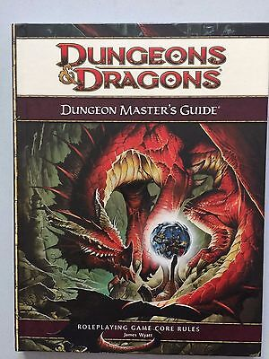 Dungeon Master's Guide - 4th Edition - D&D Dungeons & Dragon