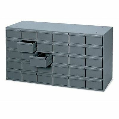 Drawer Bin Cabinet, 17-1/4 In. D, Gray DURHAM 035-95