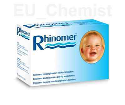 Nose Nasal Aspirator Baby Rhinomer from 0+ to 3 years - Clear nasal congestion