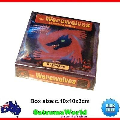 The Werewolves of Millers Hollow Card Game new family fun Chinese language
