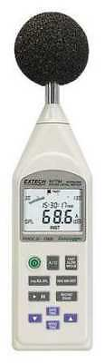 Extech 407780A Digital Sound Level Meter Dtlgng