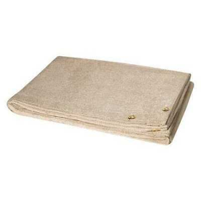 STEINER 372-6X10 Welding Blanket,10 ft. W,6 ft.,Tan