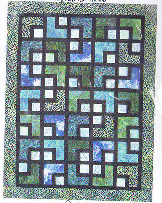 The Maze - Fabulous pieced quilt PATTERN in 5 sizes - Mountainpeek