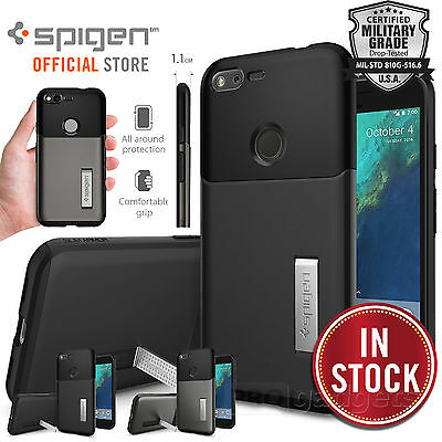 Google Pixel XL Case, Genuine SPIGEN SLIM ARMOR Heavy Duty Cover for Google