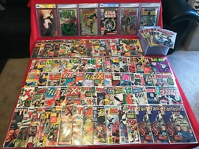 Silver age Comic Grab Bags Marvel,dc,Spider-man,Daredevil,Thor,Hulk,Avengers, #1