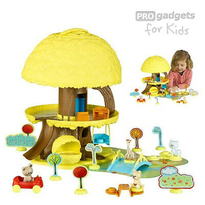 Genuine Vulli Sophie The Giraffe Magic Magical Tree Treehouse Play Set