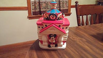 Disney Mickey Mouse ToonTown City Hall Cookie Jar
