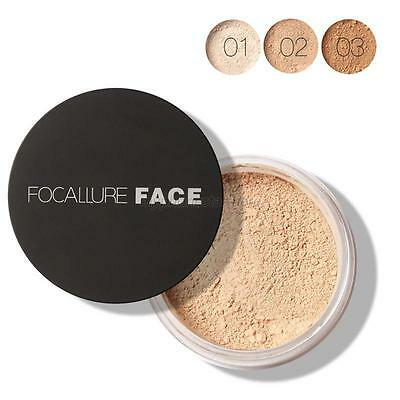 Loose Finish Powder Mineral Smooth Skin Face Powder Foundation Waterproof Beauty