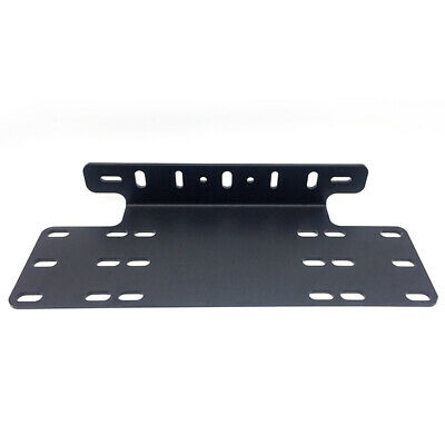Number Plate Holder Mount Bracket Car Led Driving Light Bar Black New Brand Au