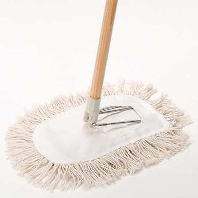 "Wedge Mop Kit,11""L,Cotton TOUGH GUY 1TZF8"
