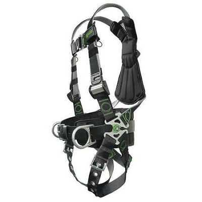 Full Body Harness, Unversal, 400lb, Black/Gry HONEYWELL MILLER RDT-TB-BDP/UBK