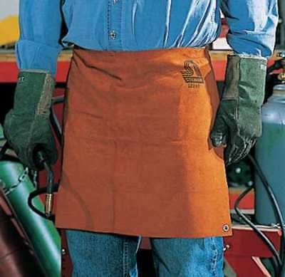 STEINER 12161 Welding Waist Apron, Leather, 18 x 24 In