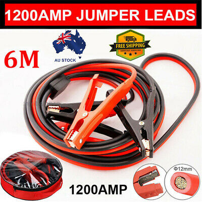 1200AMP Jumper Lead Surge Protected Jump Car Booster Cable Heavy Duty New Brand
