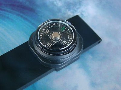 20Mm Diver Surfer Swimmer Diver Boater Watchband Watch Band Compass One Fits All