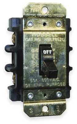 HUBBELL WIRING DEVICE-KELLEMS HBL7852D Manual Motor Switch,50A,600VAC,2P
