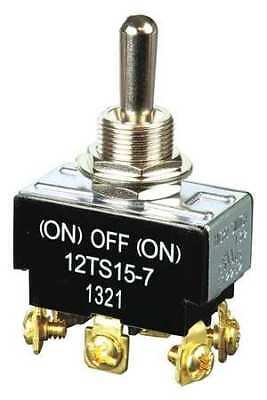 HONEYWELL 12TS15-7 Toggle Switch, DPDT, Mom On/Off/Mom On