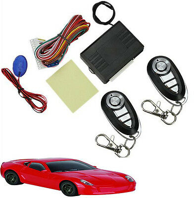 Keyless Entry System Universal Car Remote Controller Central Kits Door Lock Set