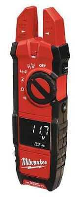 MILWAUKEE 2205-20 Digital Clamp Meter, 40 MOhms, 200A