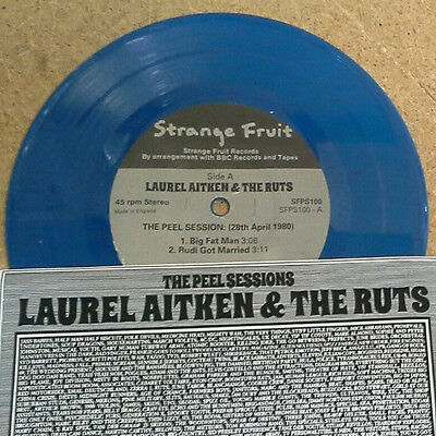 Laurel Aitken With The Ruts  ‎– The Peel Sessions EP