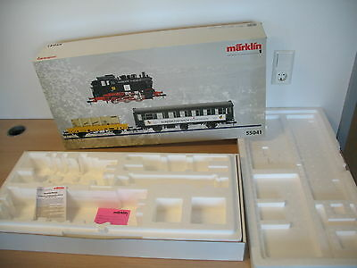 AO501-3# Märklin 1 gauge Empty box SET 55041 Special train to Goeppingen