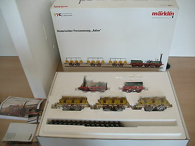 AO506-9#Märklin Track 1 Historical Passenger Train Eagle; 55175 mfx/Digital TOP+