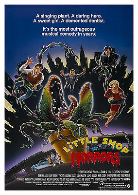 Little Shop of Horrors (1986) - A1/A2 POSTER **BUY ANY 2 AND GET 1 FREE OFFER**