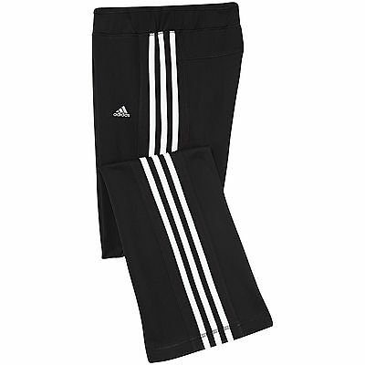 Adidas Track Suit Bottoms Black Climacool Jazz Track Pants Girls  Age 14-15