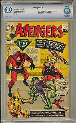 Avengers #2 CBCS 6.0 (OW-W) 2nd Appearance of the Avengers