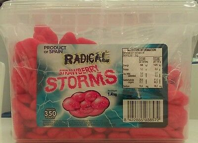 Strawberry Flavour Red Clouds / Storms (1.4kg) Pk 1