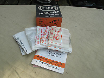 STANDARD 10 948cc , 1954 to 61 - COORDS , STD Size Piston Rings