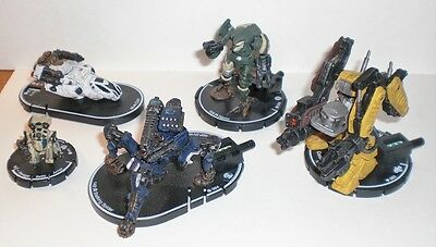 STALKING SPIDER, HAVOC, RAVAGER,CIZIN, CONSTRUCTION MECH MAGE KNIGHT figures