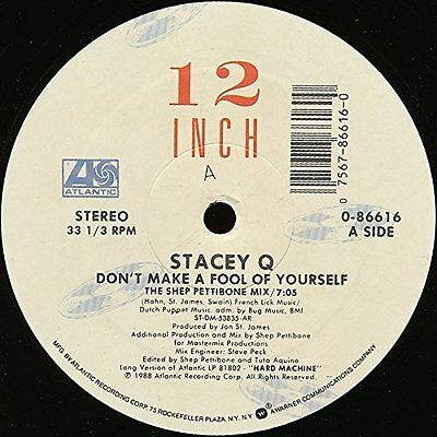 """Stacey Q Don't make a fool of yourself (1988) [Maxi 12""""]"""