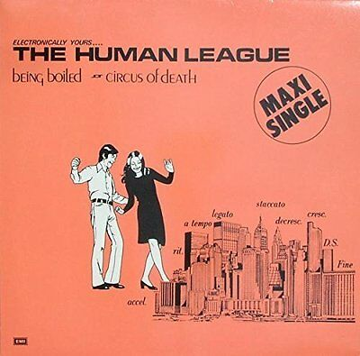 """Human League Being boiled [Maxi 12""""]"""
