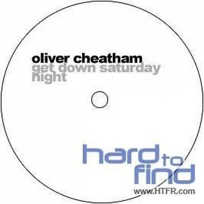 """Oliver Cheatham Get down Saturday night (Get down in the 90's) [Maxi 12""""]"""