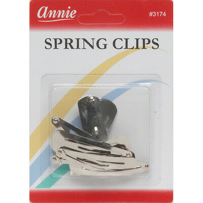 Annie Combo Clips Metal /& Plastic Combination Hair Control Pins Accessory #3185