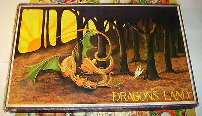 Chad Valley  Elspeth Eagle-Clarke Dragon's land wooden Jigsaw Puzzle