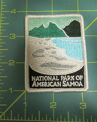 New Traveler Series Patch National Park of American Samoa - Embroidered Patch
