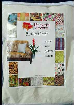 Lifestyle Covers Natural Full Size Futon Cover Royal Heritage Home Natural
