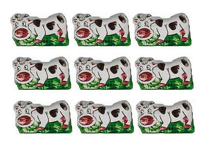 100 Milk Chocolate Cows - ''farm'' Theme Parties Kids Birthday Favours Candy Bar