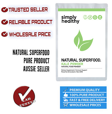 PURE KALE POWDER 100g BEST AVAILABLE QUALITY