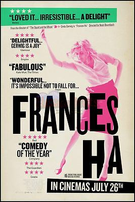 Frances Ha Classic Retro Vintage Movie Poster All Sizes Repro : #UC1201