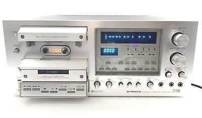 PIONEER CT-F1250 High End Stereo Cassette Deck Vintage 1979 Top Line
