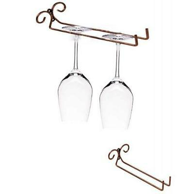 Wine Glass Rack Glbumm Goblet Hanging Shelf Rack Stemware Cup Glass Holder