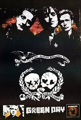 """GREEN DAY THE POSTER 24""""x36"""" MUSIC ROCK CONCERT NEW1 SIDE SHEET WALL PM165"""