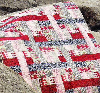 Come What May - fabulous modern pieced quilt  PATTERN  - Jaybird